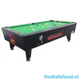 Pooltafel Top 6 FT (inclusief muntinworp)