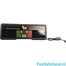 Favero scorebord Play 8 met afstandsbediening
