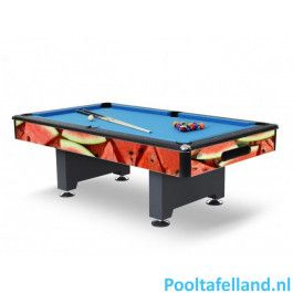 Gepersonaliseerde Heemskerk Pooltafel Baltimore 8ft