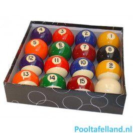 Polyester Poolballen 48 mm.