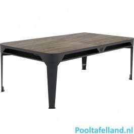 Cornilleau Pooltafel Hyphen tafeltop zwart - wood