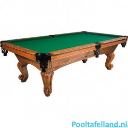 Buffalo Pooltafel Napoleon 8 ft Eiken