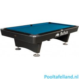 Buffalo Pooltafel Dominator 9 ft Zwart