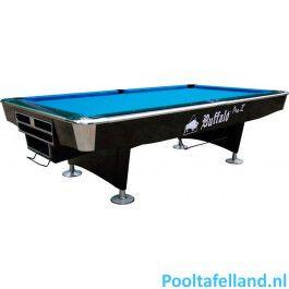 Buffalo Pooltafel Pro II 8 ft zwart, Drop pocket