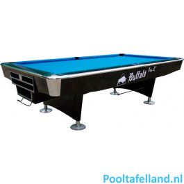 Buffalo Pooltafel Pro II 9 ft zwart, Drop pocket