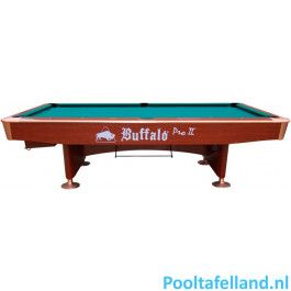 Buffalo Pooltafel Pro II 9 ft bruin, Drop pocket
