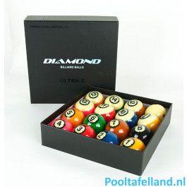 Diamond Ultra-C TV poolballen 57,2mm