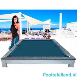 Lexor Pooltafel Dinner Ibiza Jeans 8ft