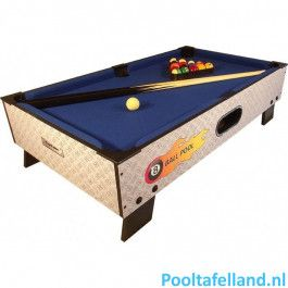 TopTable Pooltafel 8-ball topper 3ft
