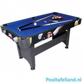 Pooltafel TopTable Chicago Poolballs 5ft
