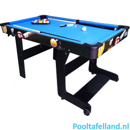 TopTable Pooltafel Fun Fold-Up 5ft, Opklapbaar