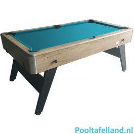 TopTable Pooltafel Magiq-Wood 6,5ft