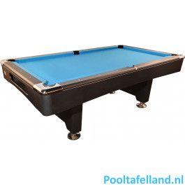 TopTable Pooltafel Break Tournament Carbon 8FT
