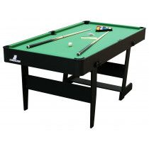 Cougar Pooltafel Hustle L 5ft opklapbaar