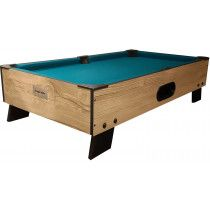 TopTable Pooltafel 8-ball topper-Wood 3ft