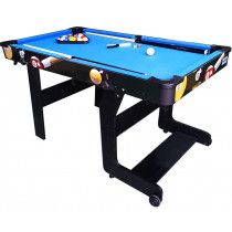 TopTable Pooltafel Fun Fold-Up 5ft, Opklapbaar