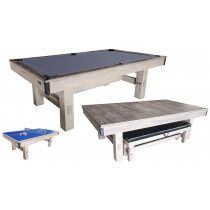 TopTable Pooltafel Dinner Wood 8FT